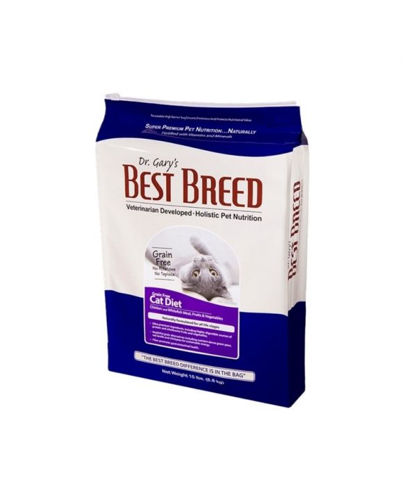 Best Breed Grain Free Cat Diet 無穀物低敏全貓糧