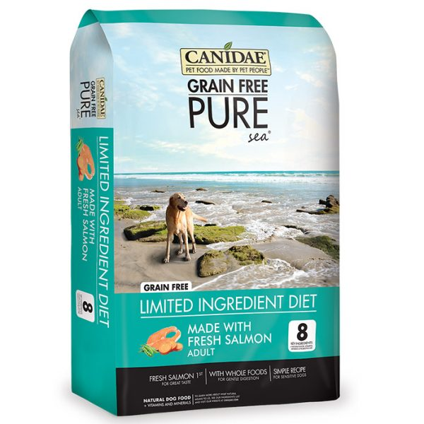 Canidae Pure Sea 成犬-無穀物 三文魚配方
